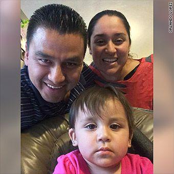 Orlando Lopez and family