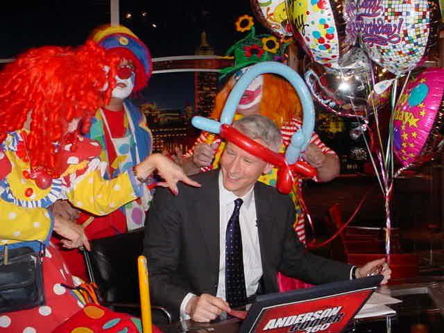 CNN is Anderson Cooper's Clown News Network