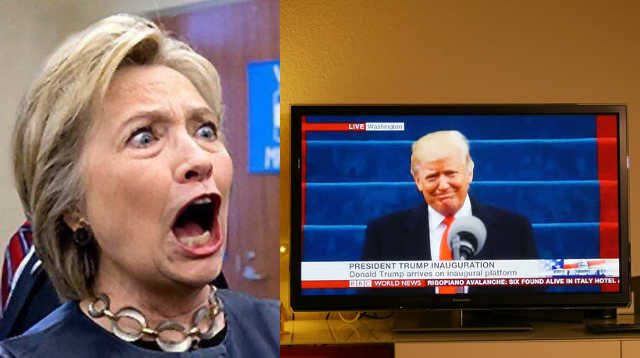 unhinged hillary admits  yelling   tv  trump   red state nation