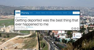 Getting deported best thing that happened to me