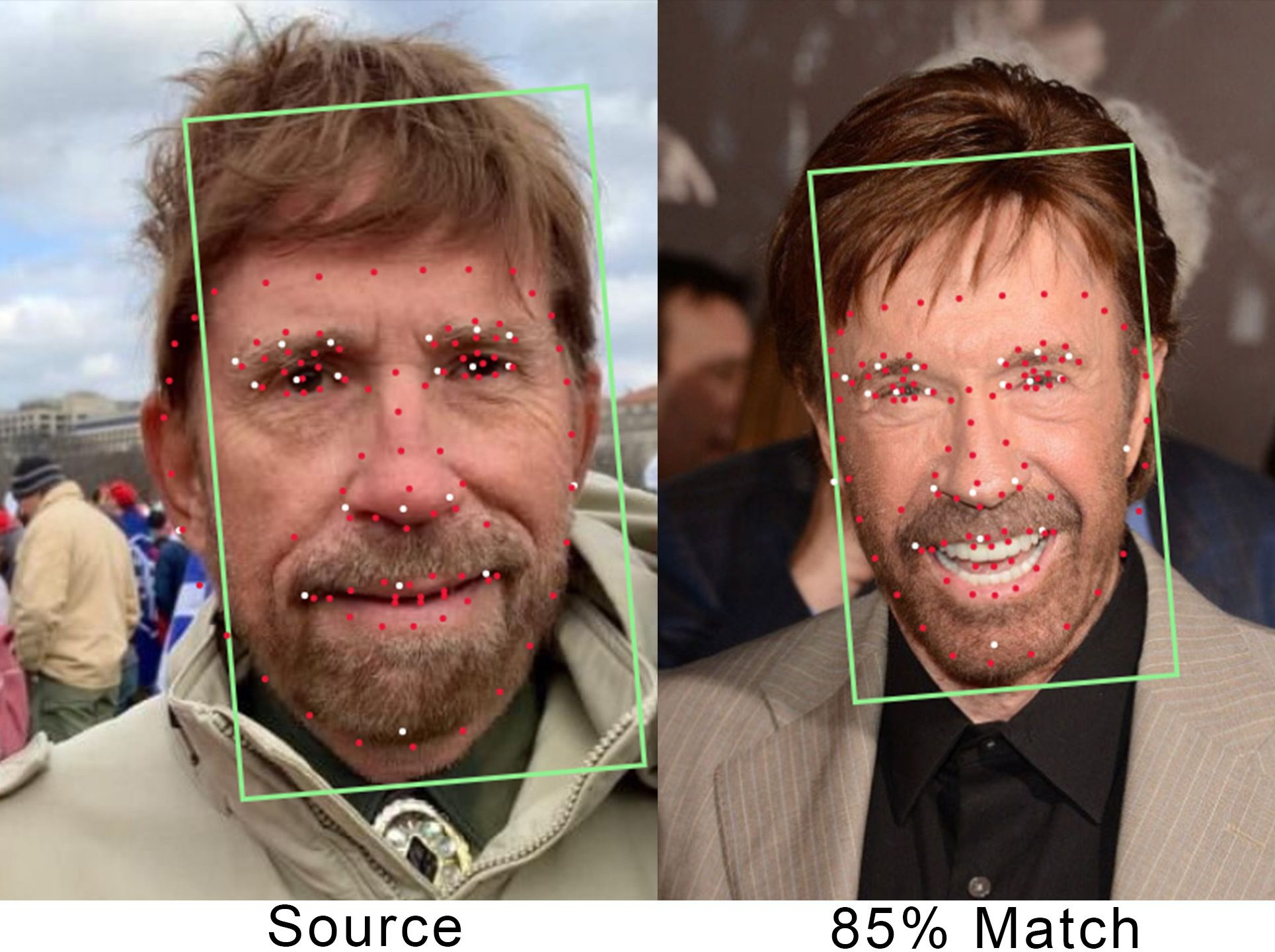 Did Chuck Norris Participated In Storming Of The US ...